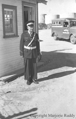 Unidentified Man in Uniform, c.1945