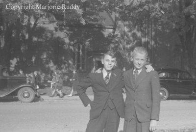 Ralph McCarl and Ralph Brown, c.1938