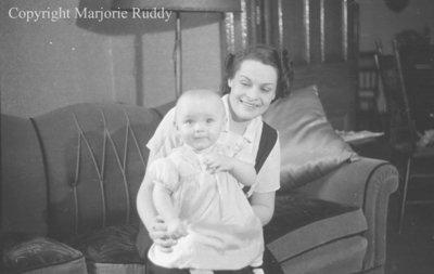 Helen & Roberta Anderson, April 22, 1938