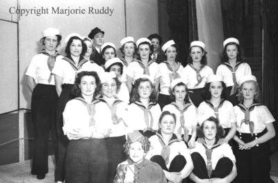 All Saints AYPA Minstrel Show, February 21, 1941