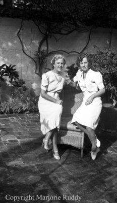 Two Unidentified Woman, January 24, 1939