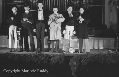 Sunday School Anniversary Play at Whitby United Church, May 8, 1938
