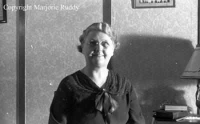 Mrs. Thorndyke, March 5, 1938