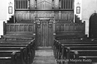 Whitby United Choir Loft, Fall 1939