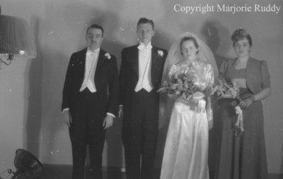 Bird/Smith Wedding, February 1940