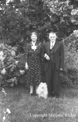 Mr. and Mrs. Bidding, 1941