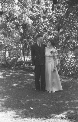 Douglas Astley & Louise Coleman, 1941