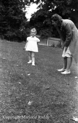 Unidentified Woman and Child, October 1941