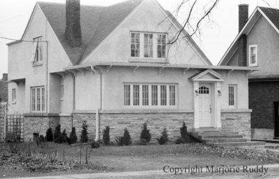 705 Brock Street South, March 23, 1938