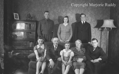 Members of the Town Family, May 5, 1941
