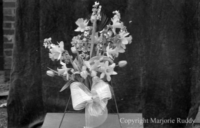 W.A. Cormack Funeral Wreath, April 6, 1938