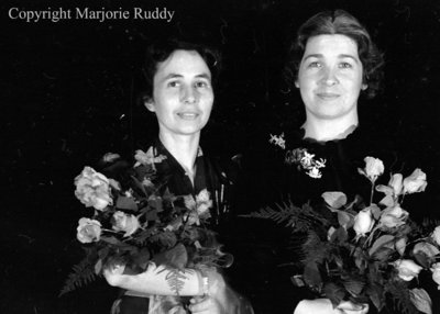 Kathleen Eugene & Eleanor Beecroft, May 3, 1938