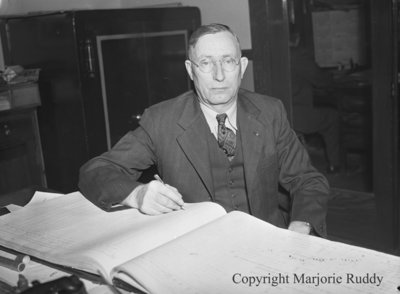 Mayor William Davidson, October 1947