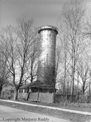 Old Water Tower, March 24, 1948