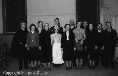 All Saints AYPA, May 11, 1939