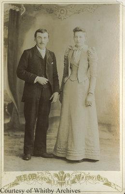 Joshua Crawforth Smith & Emma Stirtevant, December 7, 1892