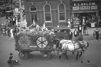 Whitby Street Fair Parade, 1936