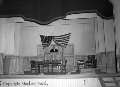 Town Hall Stage, 1950
