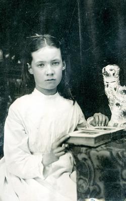 Helen Robina Foote, age 12, c. 1875