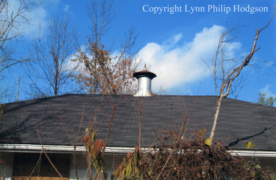 Roof and Roof Vent on the Last Remaining Camp X Building
