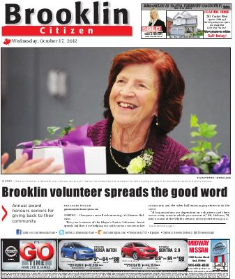 Brooklin Citizen (Brooklin, ON), 17 Oct 2012