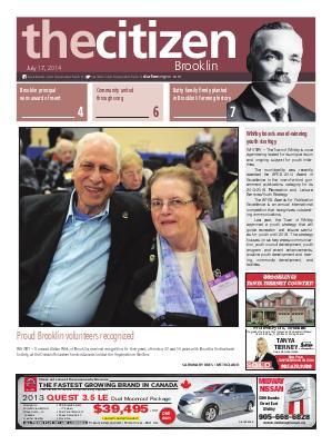 Brooklin Citizen (Brooklin, ON), 16 Jul 2014