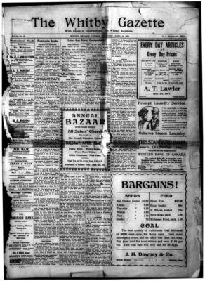 Whitby Gazette, 15 Apr 1909