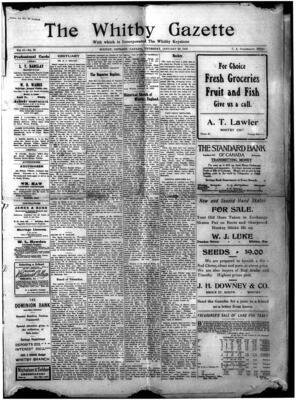 Whitby Gazette, 20 Jan 9010