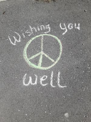 Chalk Art in Whitby