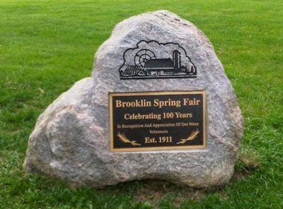 Brooklin Spring Fair Volunteer Rock, 2011