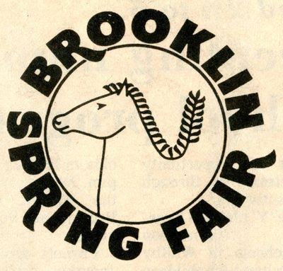Brooklin Spring Fair Logo, 1982