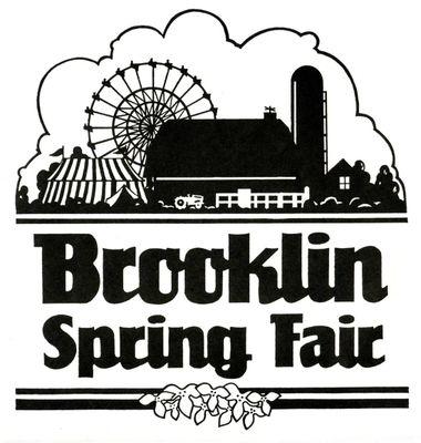 Brooklin Spring Fair Logo, 1986
