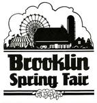 Brooklin Spring Fair Logo, 1986