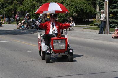 Float in the Brooklin Spring Fair Parade, June 6, 2009