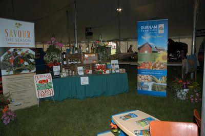 Farm Fresh Display at the Brooklin Spring Fair, June 1, 2012