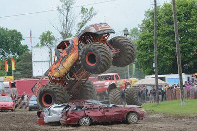 Monster Truck at the Brooklin Spring Fair, June 5, 2016