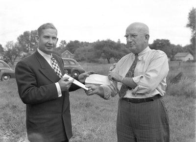 Natlie Knitting Mills Officials, 1946