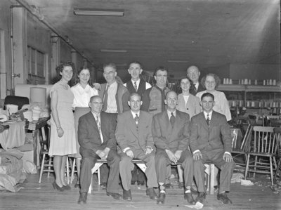 Natlie Knitting Mills Christmas Party, 1947
