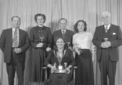 Ontario Hospital Bowling Team, 1948