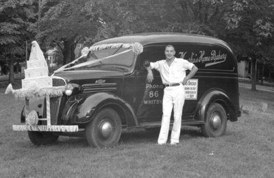 Martin's Home Bakery Truck, August 4, 1939