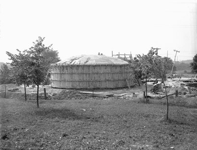 Construction of Sewage Treatment Plant, 1948