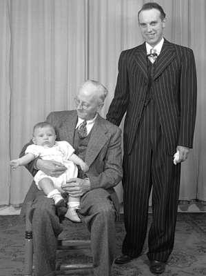 Moorehouse Family - 3 Generations (Image 1 of 2)
