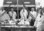 Chefs at Ontario Hospital Whitby, December 1940