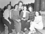 Group Portrait of Members of the Whit-Knit Club , c.1943