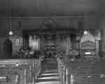 Interior of St. John's Anglican Church, c. 1910
