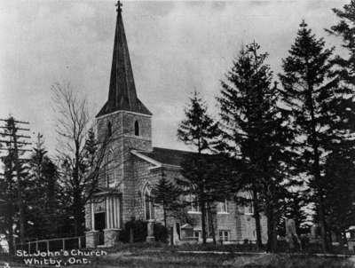 St. John's Anglican Church, c. 1927