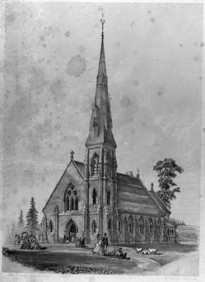All Saints' Anglican Church, 1865