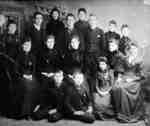 All Saints' Anglican Church Choir, 1885