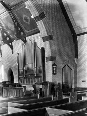 All Saints' Anglican Church New Organ, 1929