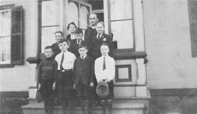 Sunday School Class at All Saints' Anglican Church Rectory, c. 1925